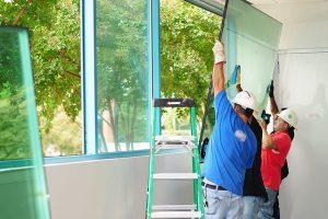 Sửa cửa kính tại Vinh